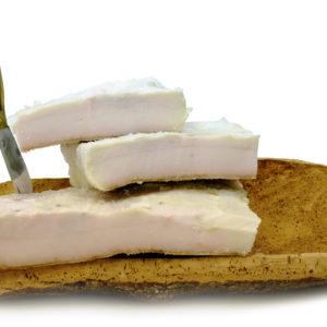 Lardo di maiale nostrano salato