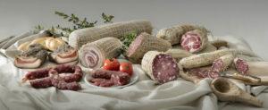 I prodotti del salumificio artigianale CEDAG di Sant'Antonio di Gallura